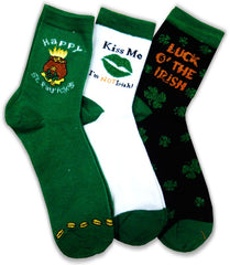 St.Patrick's Day Irish Pride Socks (3 pack)