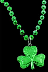St. Patrick's Day Irish Shamrock Necklaces (12 pack)