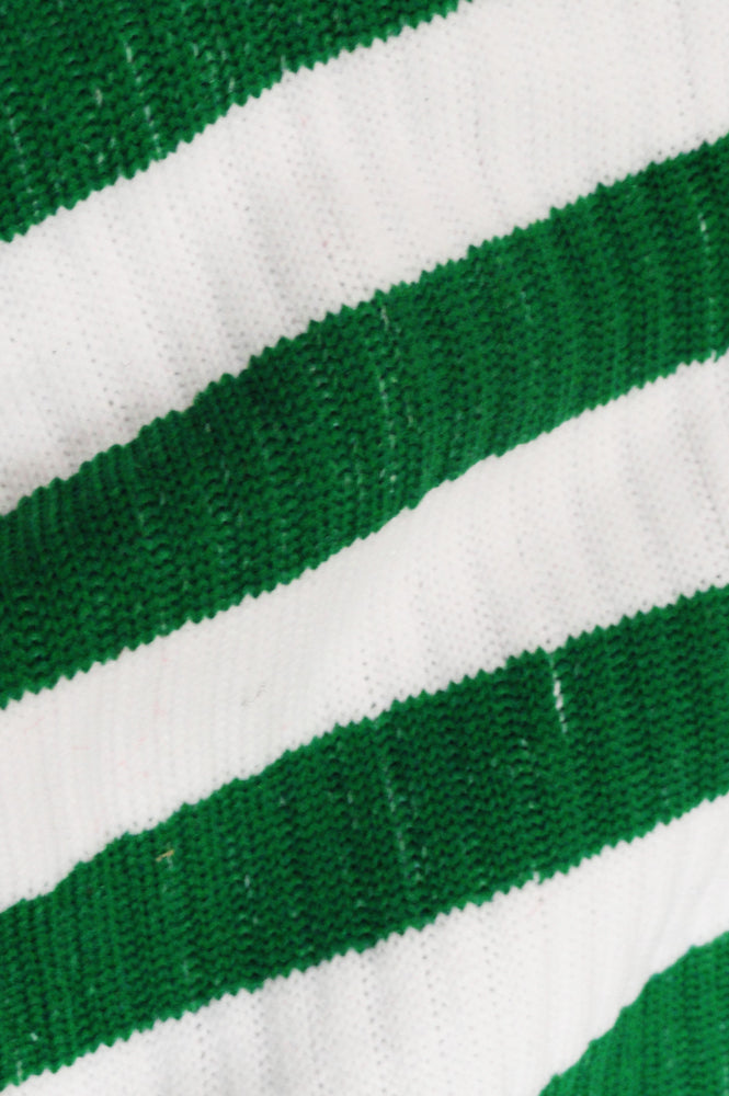 St. Patrick's Day Leg Warmers (Green and White Stripes)