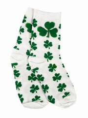 St.Patrick's Day Shamrock Socks