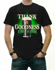 St. Patrick's Day Tees - Thank Goodness I'm Irish T-Shirt