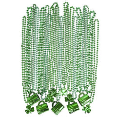 St. Patrick's Day Value Pack of 72 Necklaces