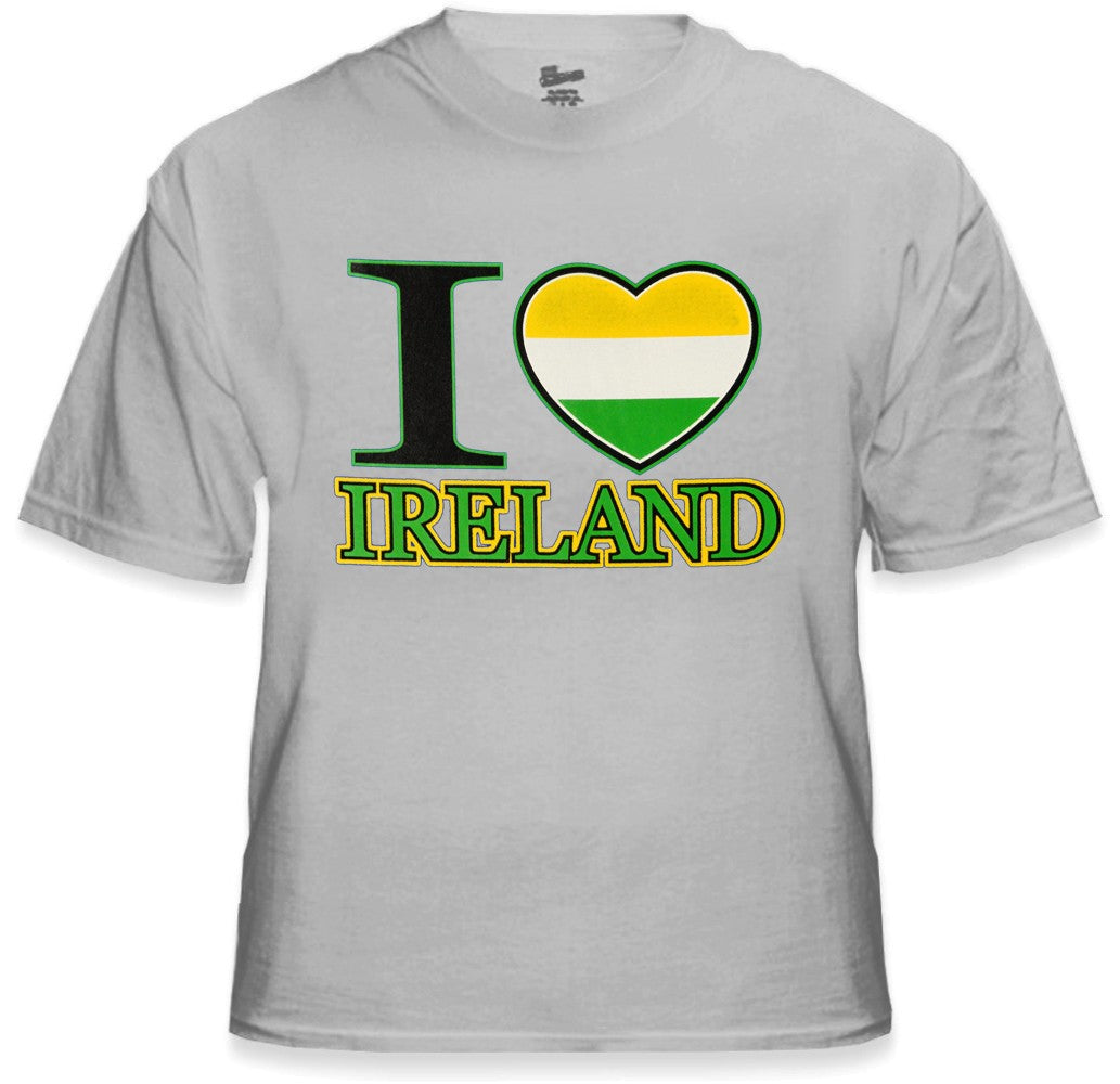 St. Patrick's Tees - I Love Ireland T-Shirt