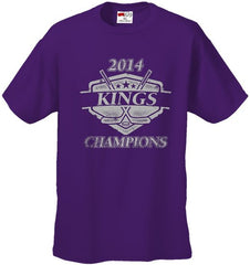 Stanley Cup Kings 2014 Cup Champions Mens T-shirt