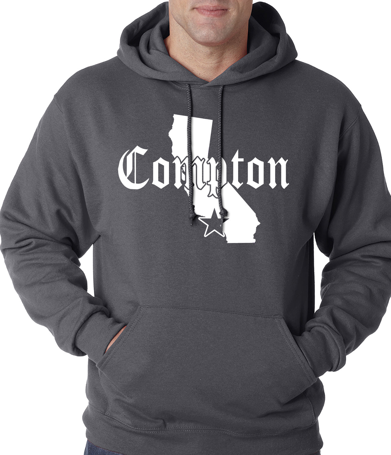 Star City Of Compton, California Adult Hoodie