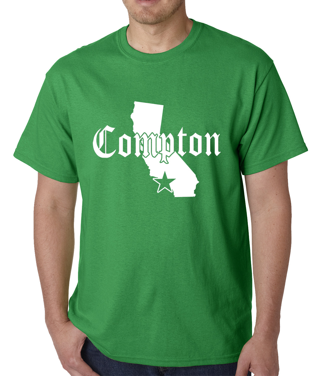 Star City Of Compton, California Mens T-shirt