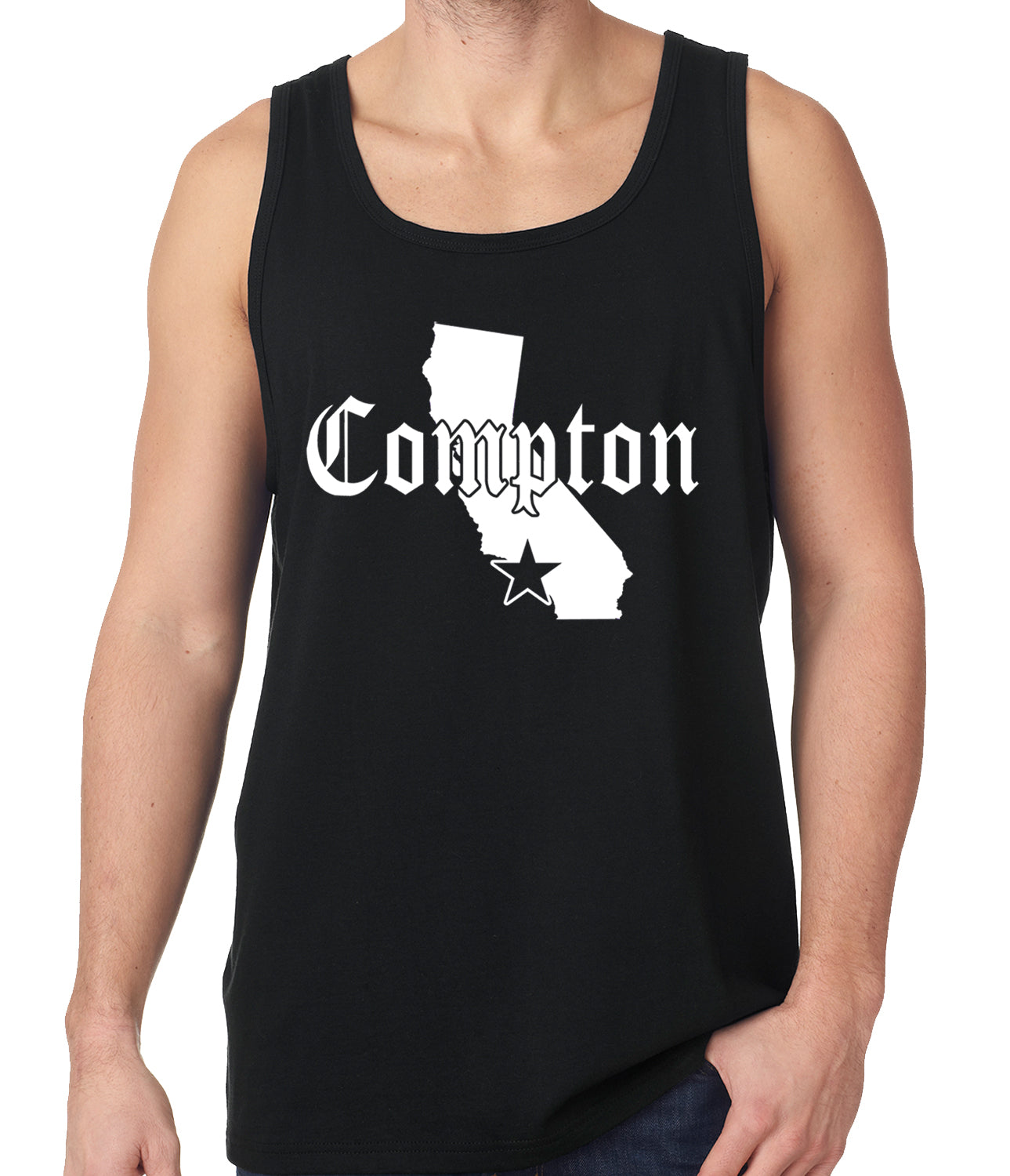 Star City Of Compton, California Tank Top