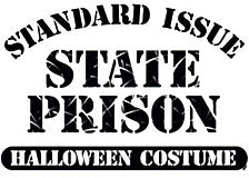 State Prison Halloween Costume T-Shirt