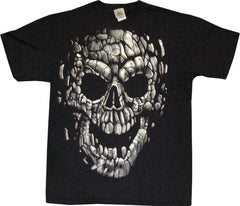Stone Skull Pieces T-Shirt