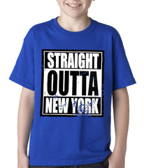 Straight Outta New York Kids T-shirt