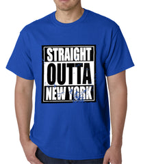 Straight Outta New York Mens T-shirt