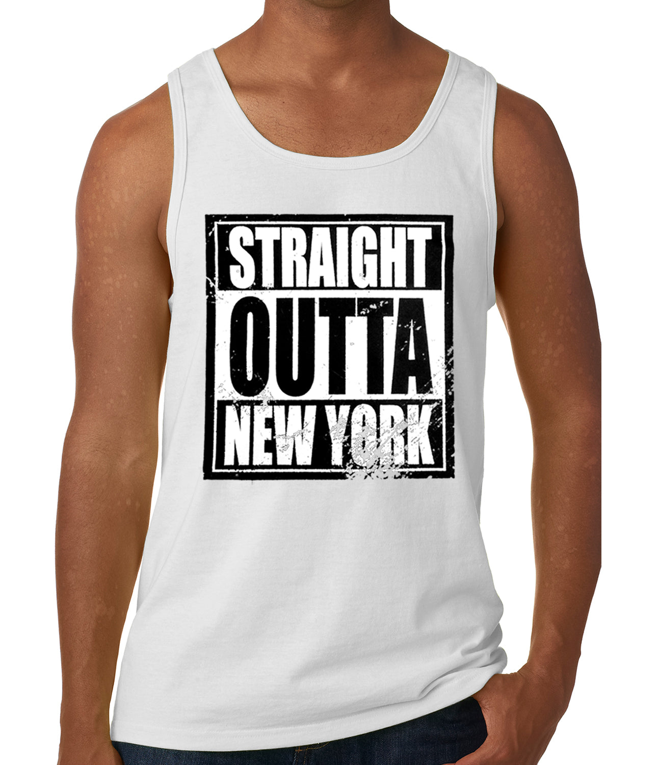 Straight Outta New York Tank Top