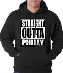Straight Outta Philly Adult Hoodie