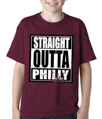 Straight Outta Philly Kids T-shirt