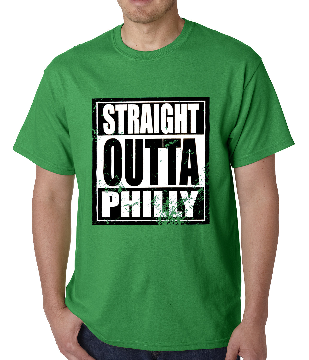 Straight Outta Philly Mens T-shirt