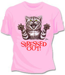 Stressed Out Girls T-Shirt