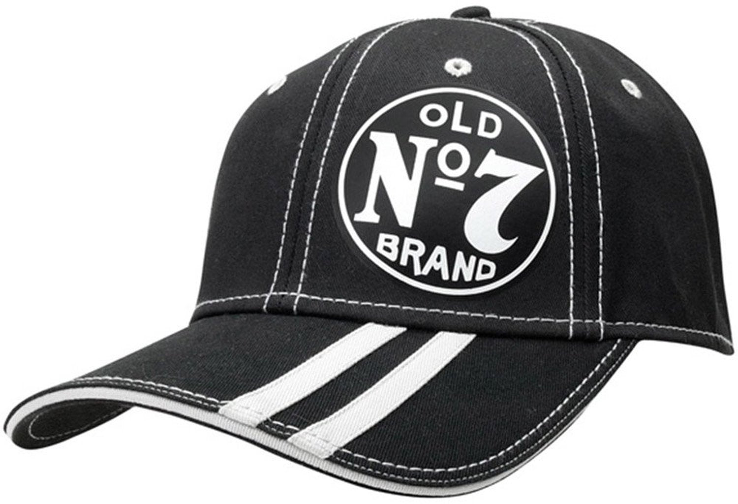 Striped Official Jack Daniel's Fitted Hat