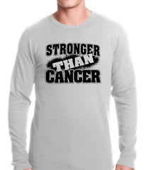 Stronger Than Cancer Thermal Shirt