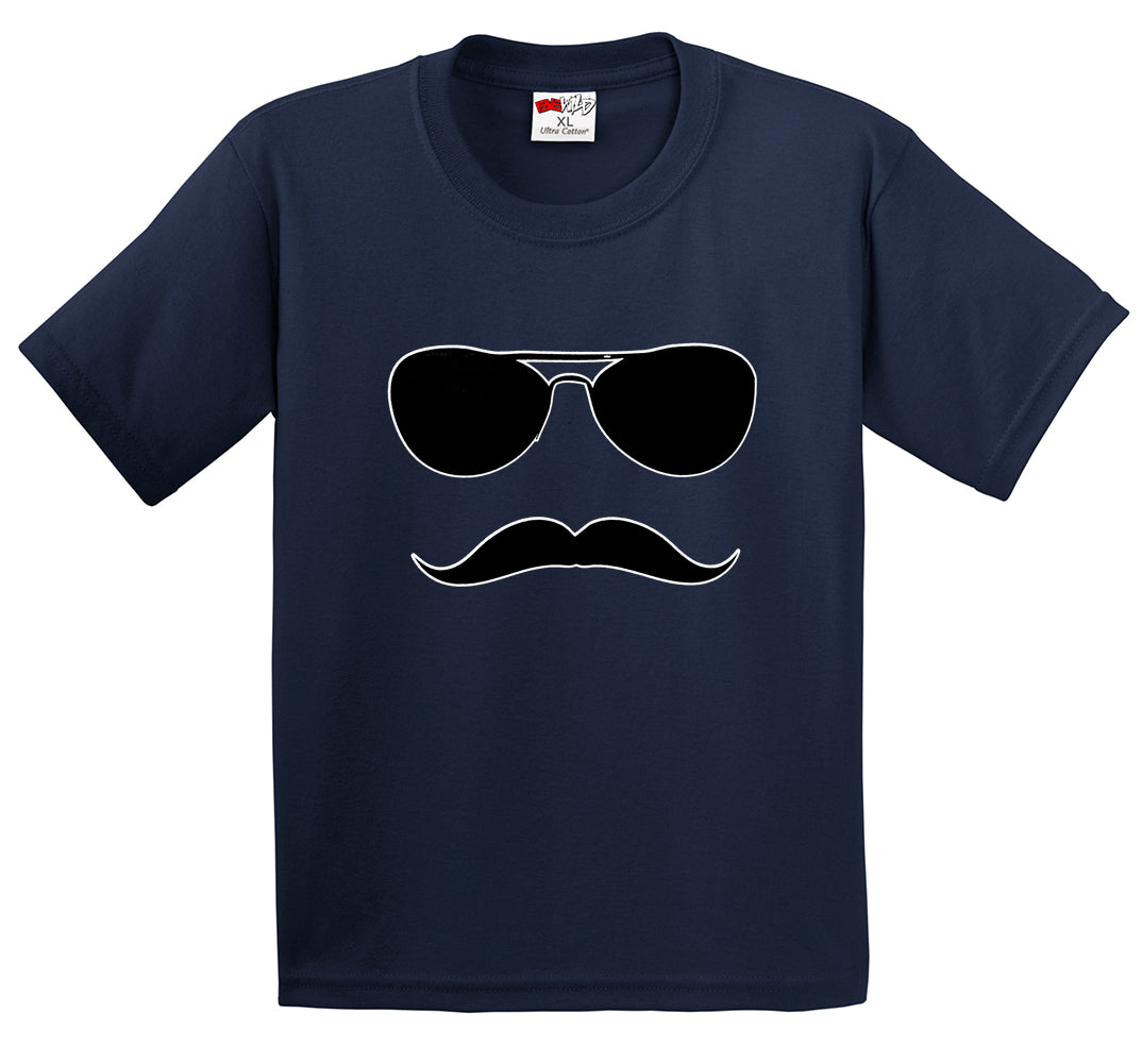 Sunglasses Mustache Men's T-Shirt