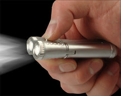 Super Bright LED Flash Light Torch Lighter