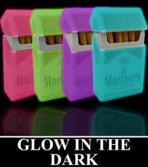 Super Glow In The Dark Cigarette Case ( Regular Size & 100's )
