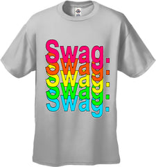 Swag Multi-Color Neon Men's T-Shirt