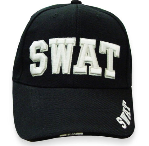 Swat Baseball Hat (Black)
