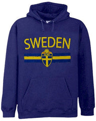 Sweden Vintage Shield International Hoodie