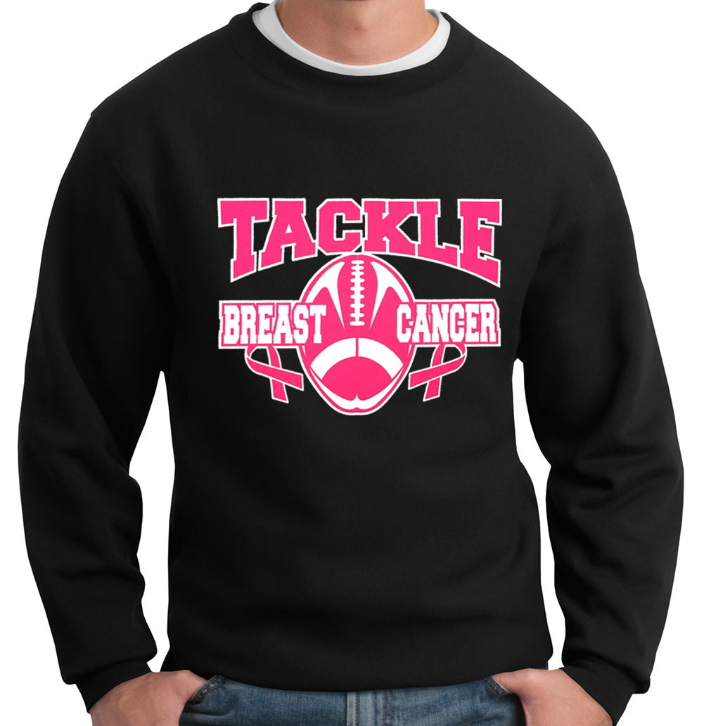 Tackle Breast Cancer Adult Crewneck