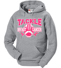 Tackle Breast Cancer Adult Hoodie