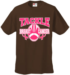 Tackle Breast Cancer Mens T-shirt