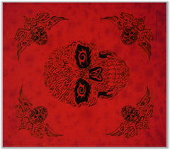 Tapestries & Bedspreads - Tribal Skull Wall Hang Tapestry