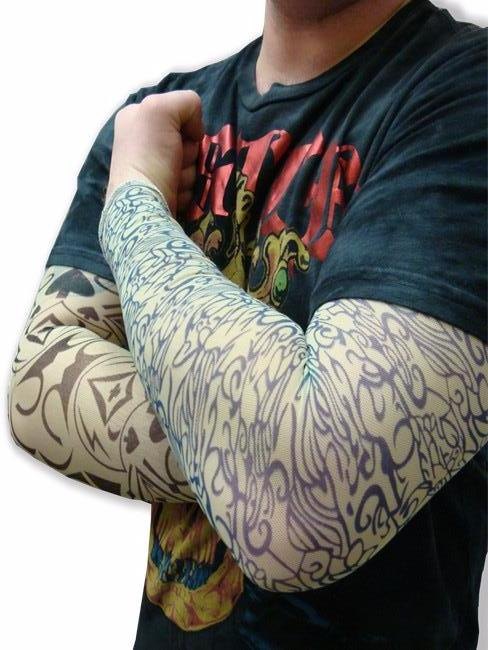 Tattoo Sleeves - 4 Assorted Tattoo Slip on Sleeves  Only $2.50 Each