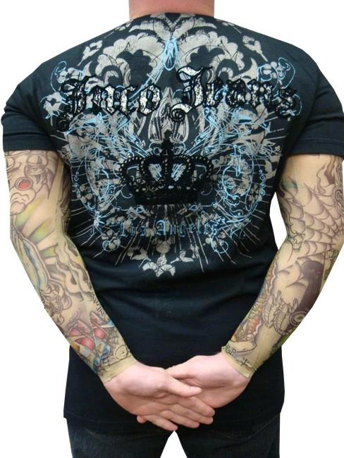 Tattoo Sleeves - Authentic Sleeves Brand Pair of Gangsta Tattoo Sleeves (Pair)