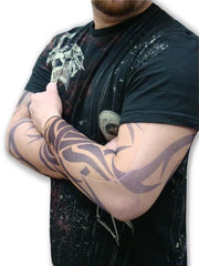 Tattoo Sleeves - Classic Tribal Tattoo Sleeves (Pair)