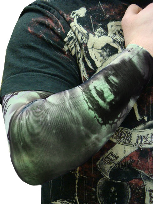 Tattoo Sleeves - Religious Christian Faith Tattoo Sleeves (Pair)