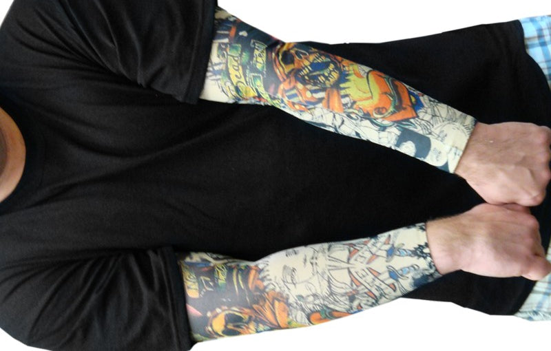 Tattoo Sleeves Sailor And Pirate Temporary Tattoo Sleeves Pair