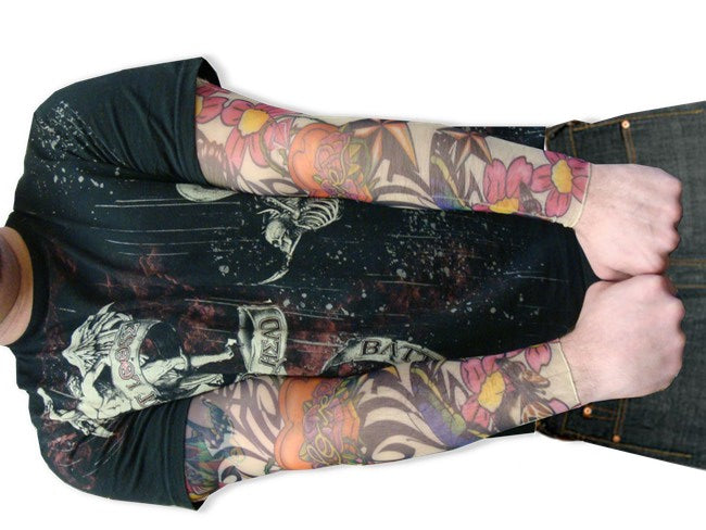 Tattoo Sleeves - Tribal Thorned Love Tattoo Sleeves (Pair)