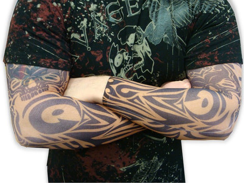 Tattoo Sleeves - Vodoo Spider Tattoo Sleeves (Pair)
