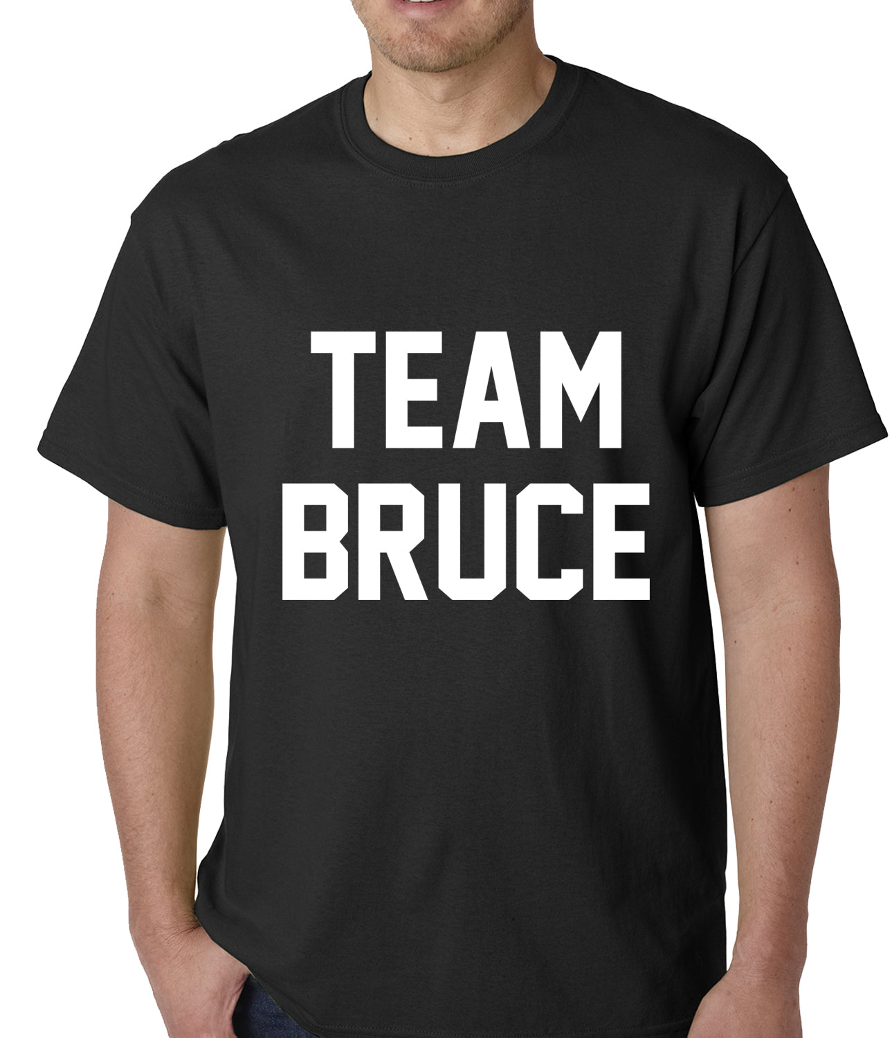 Team Bruce Mens T-shirt