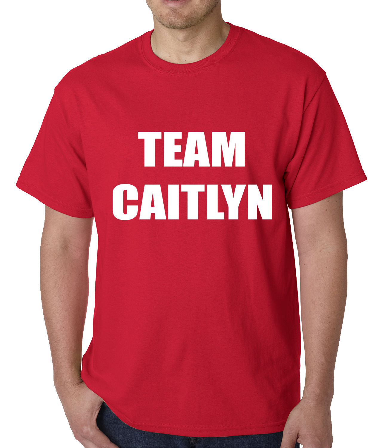 Team Caitlyn Jenner Mens T-shirt