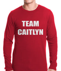 Team Caitlyn Jenner Thermal Shirt