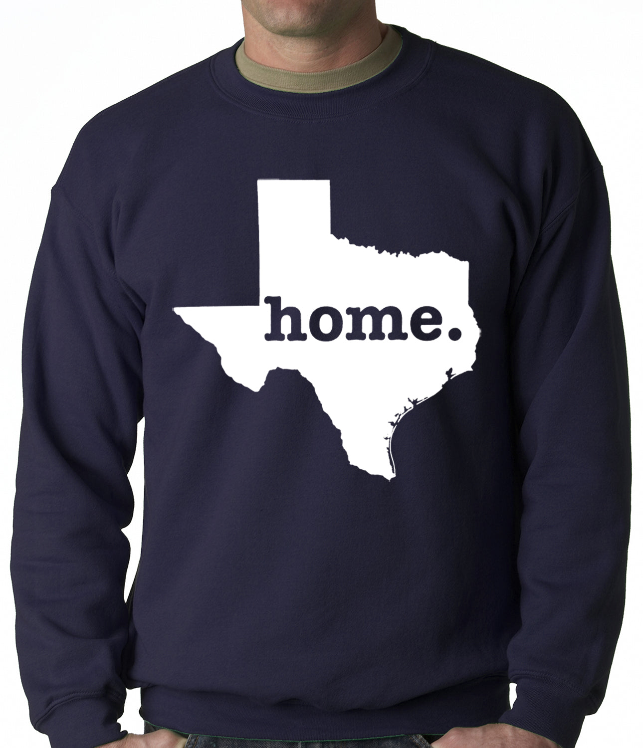 Texas is Home Crewneck