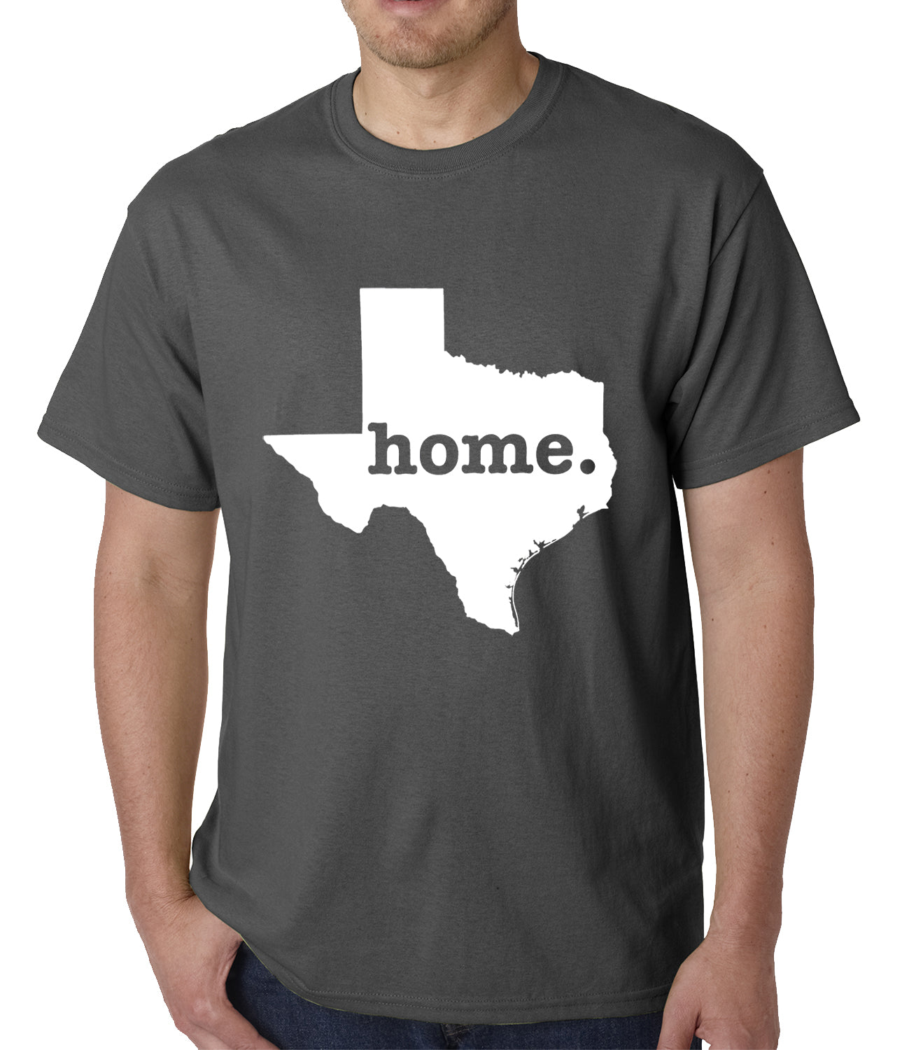 Texas is Home Mens T-shirt