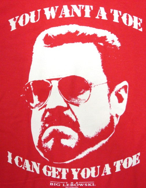 "The Big Lebowski ""You Want a Toe"" T-Shirt :: From the Movie The Big Lebowski"