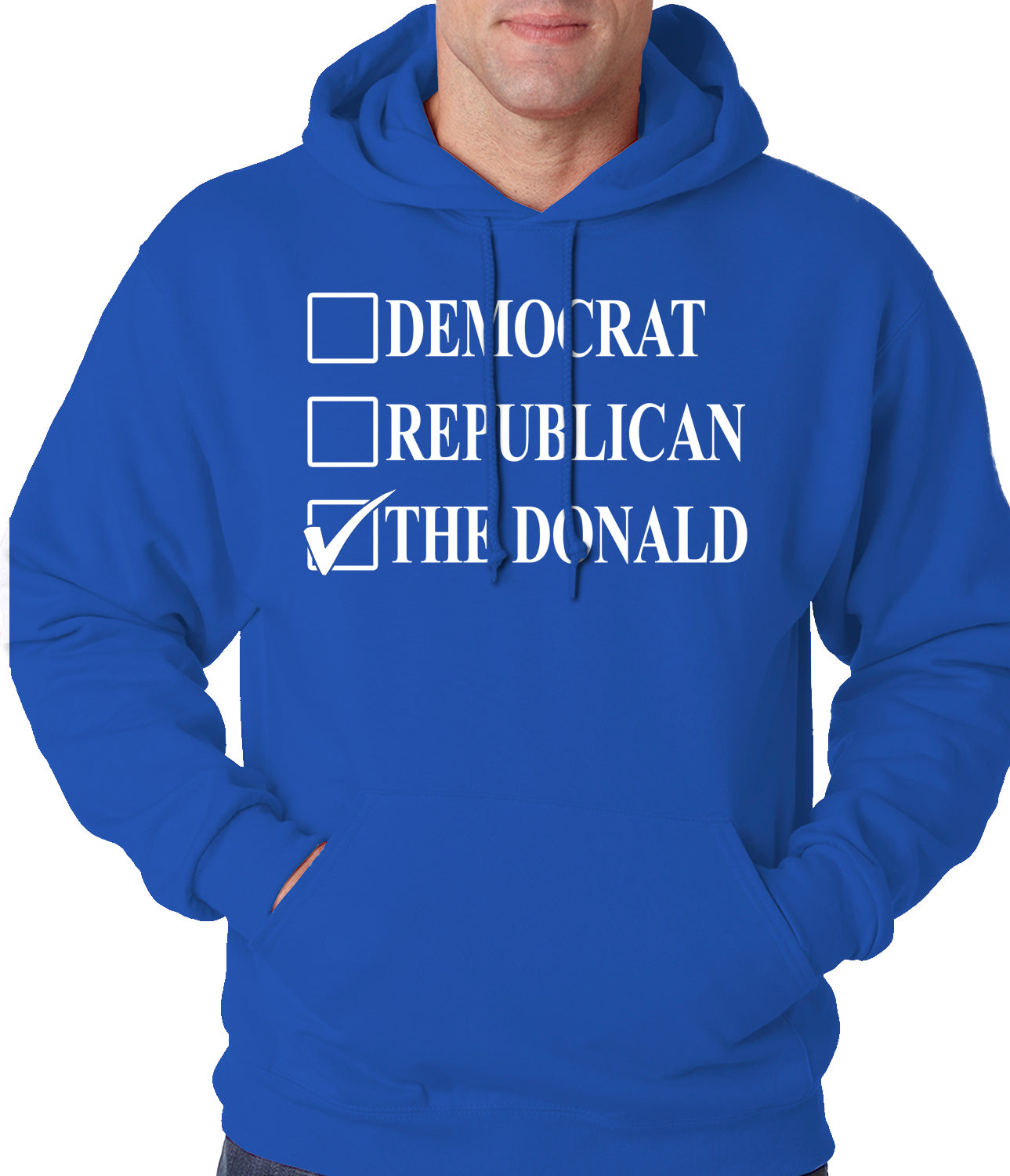 Donald Trump Merchandise - The Donald Adult Hoodie