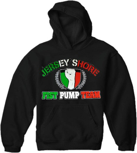 The  Fist Pump Team Hoodie