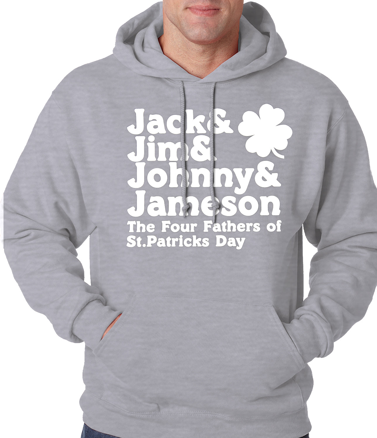 The Four Fathers of St. Patrick's Day Hoodie