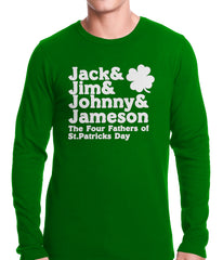 The Four Fathers of St. Patrick's Day Thermal Shirt