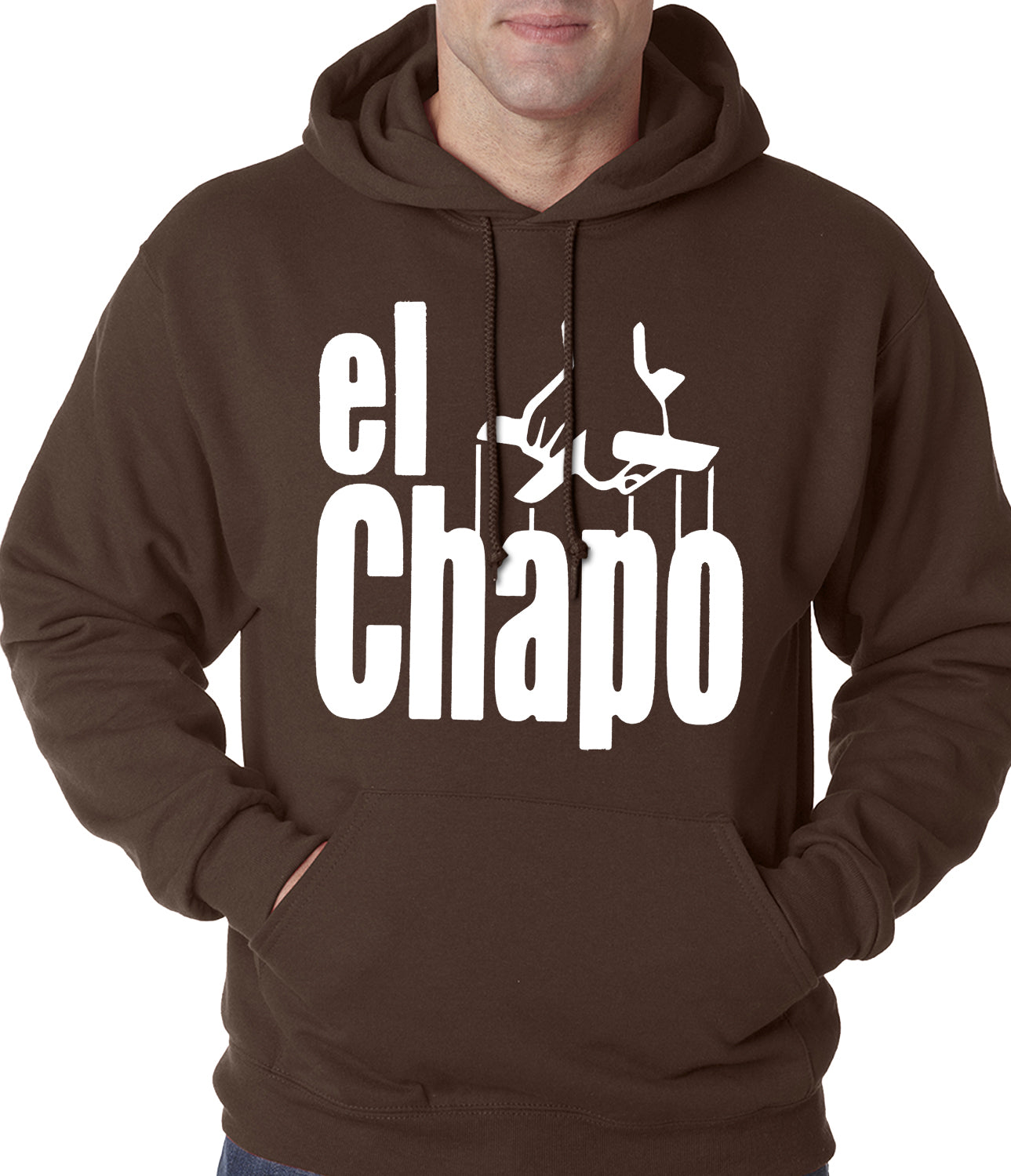 The God Father Inspired El Chapo Adult Hoodie